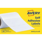 Avery Typewriter Address Label Rolls AL03 White 190 Labels per pack Pack 190