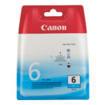 Canon BCI 6C Original Cyan Ink Cartridge 4706A002