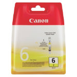 Canon BCI 6Y Original Yellow Ink Cartridge 4708A002