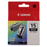 Canon 15 Original Black Ink Cartridge 8190A002