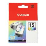Canon BCI15C Cyan Magenta Yellow Printer Ink Cartridge