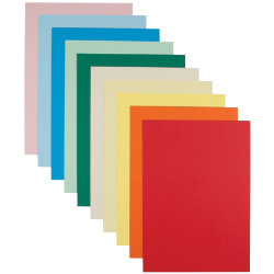 Art And Craft Card Pastel Colours A4 100pk
