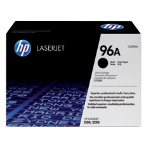 Original HP C4096A LaserJet black toner cartridge HP No 96A