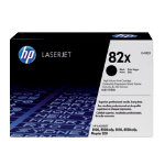 Original HP C4182X LaserJet black toner cartridge HP No 82X