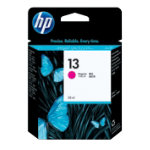 Original HP No13 magenta printer ink cartridge C4816A