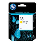 Original HP No13 yellow printer ink cartridge C4817A