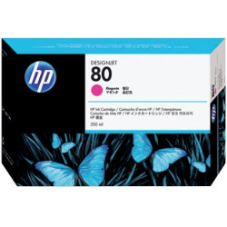 Original HP No.80 magenta printer ink cartridge C4847A