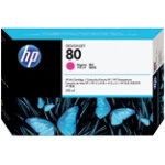 Original HP No80 magenta printer ink cartridge C4847A