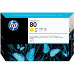 Original HP No80 yellow printer ink cartridge C4848A