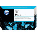 Original HP No80 black printer ink cartridge C4871A