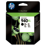 Original HP No940XL high capacity black printer ink cartridge C4906AE