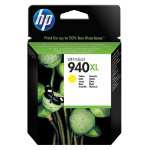 Original HP No940XL high capacity yellow printer ink cartridge C4909AE