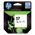 Original HP No57 tri colour printer ink cartridge C6657A