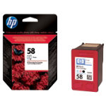 Original HP No58 colour photo printer ink cartridge C6658AE