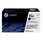 Original HP C7115X high capacity LaserJet black toner cartridge HP No 15X