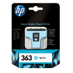 Original HP No363 light cyan printer ink cartridge C8774EE