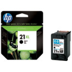 Original HP No21XL high capacity black printer ink cartridge C9351CE