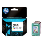 Original HP No344 tri colour cyan magenta yellow printer ink cartridge C9363EE