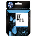 Original HP No88 light capacity black printer ink cartridge C9385AE