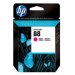 Original HP No88 light capacity magenta printer ink cartridge C9387AE