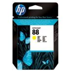 Original HP No88 light capacity yellow printer ink cartridge C9388AE