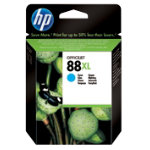 Original HP No88XL high capacity cyan printer ink cartridge C9391AE
