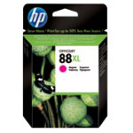 Original HP No88XL high capacity magenta printer ink cartridge C9392AE