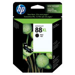 Original HP No88XL high capacity black printer ink cartridge C9396AE