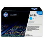 Original HP C9721A cyan laser toner cartridge HP No 641A