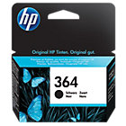 Original HP No364 black printer ink cartridge CB316EE