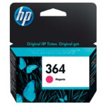 Original HP No364 magenta printer ink cartridge CB319EE