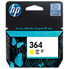 Original HP No364 yellow printer ink cartridge CB320EE