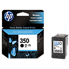 Original HP No350 black printer ink cartridge CB335EE