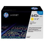 Original HP CB402A LaserJet yellow toner cartridge HP No 642A