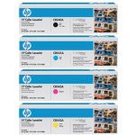 HP 125A Black Colour Toner Multipack Bundle