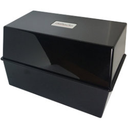 Card Index System 8 X 5   Black