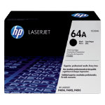 Original HP CC364A LaserJet black toner cartridge HP No 64A