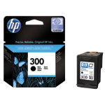 HP 300 Original Black Ink cartridge CC640EE
