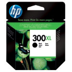 Original HP No300XL high capacity black printer ink cartridge CC641EE