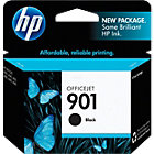 Original HP No901 black printer ink cartridge CC653AE