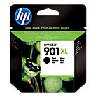 Original HP No901XL high capacity black printer ink cartridge CC654AE