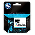 Original HP No901 colour printer ink cartridge CC656AE