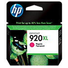 Original HP No920XL high capacity magenta printer ink cartridge CD973AE