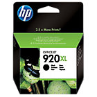 Original HP No920XL high capacity black printer ink cartridge CD975AE