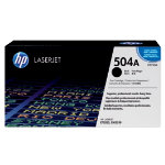 Original HP CE250A LaserJet black toner cartridge HP No 504A