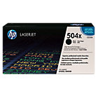 Original HP CE250X LaserJet black toner cartridge HP No504X