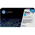 Original HP CE251A LaserJet cyan toner cartridge HP No 504A