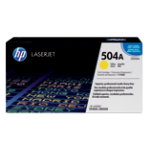 HP Original Laserjet CE252A Toner Cartridge Yellow