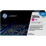 Original HP CE253A LaserJet magenta toner cartridge HP No 504A