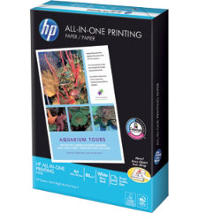 Hewlett Packard HP A4 All in One Printer Paper  White 500 Sheets